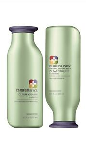 Pureology Clean Volume Shampoo and Conditioner Duo Set (8.5 oz each)