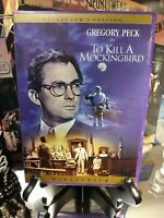 To Kill a Mockingbird (DVD) 1962 Gregory Peck - 1st Edition 1998 DVD Release WS