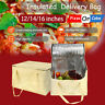 Insulated Pizza Food Delivery Bag Takeaway Thermal Storage Holder Outdoor Picnic