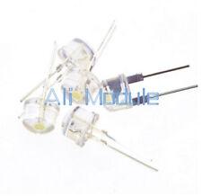 NUOVO 10PCS 8 mm Cappello di paglia 0.5 W LED luce che emettono diodo LED bianco ad alta potenza