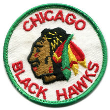 "CHICAGO BLACKHAWKS NHL HOCKEY VINTAGE 3"" ROUND TEAM PATCH"