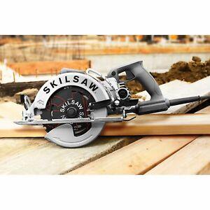 SKILSAW SPT77W-01 120 Volt 7-1/4 Inch 15 Amp Aluminum Worm Drive Circular Saw