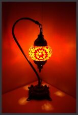 AKTION-PREIS! Mosaiklampe orientalische Lampe mosaik Samarkand-Lights Orange