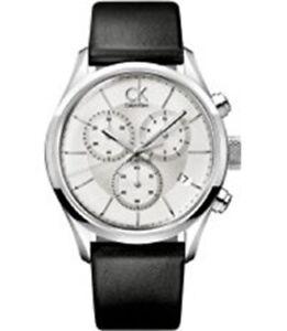 CALVIN KLEIN Masculine White Dial Men's Watch K2H27102 Watch Swiss 42' mm