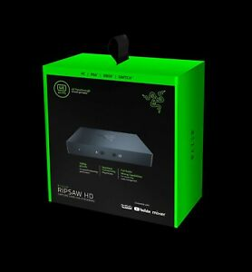RAZER RIPSAW HD 60FPS CAPTURE CARD FOR STREAMING 1080p/4K passthrough HDMI