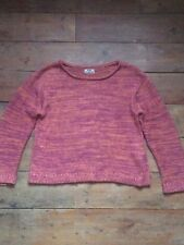 ce01ece56dc4 Acne Studios Archive Orange Rose SEV Twist Heavy Knit Pull Taille S