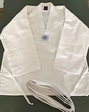 Sun Choi Brothers Taekwondo Uniform size 3 - White Jacket, Pants, Belt