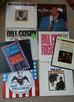 MIXED COMEDY LOT OF 8 LPS FAIR TO VG+  Smothers Brothers Redd Foxx Bill Cosby