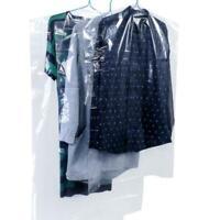 20Stk Kleiderschutzhülle Kleidersack Schutzhülle transparent Mantelschutz G T3R0