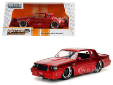 1987 BUICK GRAND NATIONAL CANDY RED 1/24 DIECAST MODEL CAR BY JADA 30343