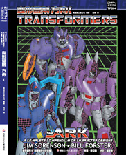 Transfomers The Ark:A Complete Compendium of Character designs 2 Books.