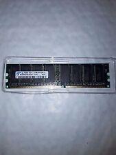 512MB Samsung M368L6523CUS-CCC PC3200U 400MHz DDR1 184-P Non-ECC Computer Memory