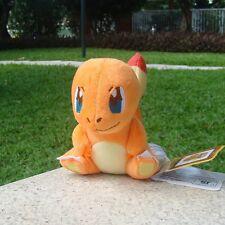 "Nintendo Pokemon Center Go Charmander Game Plush Toy Stuffed Animal Soft Doll 6"""