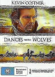 Dances with Wolves DVD Kevin Costner New and Sealed Australian Release