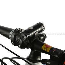 EasyDo Bike MTB LED Head Light EL-500F High/Low/Flashing USB Rechargeable Black