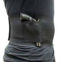 Concealed Carry Belly Band Gun Holster Under Cover Elastic Abdominal Pistol Bag