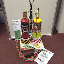 Welding and Brazing Kit, The Little Torch Kit, FULL MAP GAS & OXYGEN TANKS