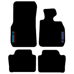 Tailored Carpet Car Floor Mats FOR BMW 3 Series F30 F31 2011 Onwards with logo