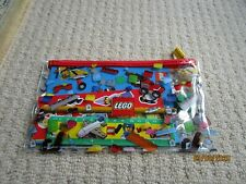 LEGO 5005969 - PENCIL CASE - BACK TO SCHOOL STATIONERY SET STICKERS NOTEBOOK