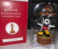 2019 Hallmark Keepsake Disney Mickey Mouse Mickey Marionette Ornament Club NIB