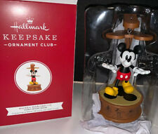 2019 Hallmark Keepsake Disney Mickey Mouse Mickey Marionette Ornament Club Nib