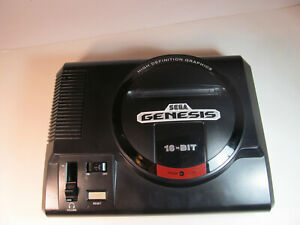 Sega Genesis Model 1 High Definition Graphics Non TMSS Console Only Good Shape