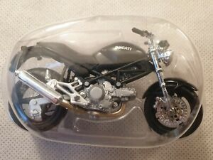 Maisto Black Ducatti Monsterdark Motorcycle Scale 1:18 Model Motorbike