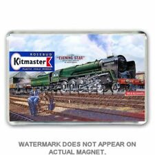 RETRO  KITMASTER  EVENING STAR  KIT BOX ARTWORK JUMBO Fridge / Locker Magnet