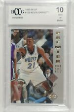 Kevin Garnett RC Graded BCCG card collection!
