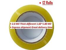 1 6 12 18 24 36 72 Rolls Clear Packing Packaging Carton Sealing Tape 2x110 Yards