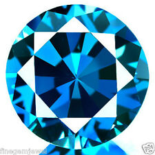 0.40ct HUGE RARE NATURAL SPARKLING VS CLEAN BEST BRIGHT BLUE DIAMOND EARTH MINED
