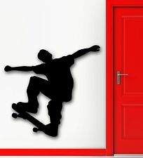 Wall Stickers Vinyl Decal Street Youth Extreme Sports Skateboard (ig831)