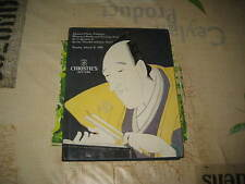 CHRISTIES CATALOGUE JAPANESE PRINTS DRAWINGS COLLECTION SCHEIWE PT2