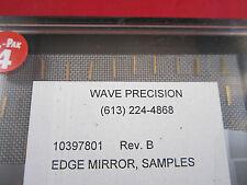 OPTICAL WAVE PRECISION EDGE GOLD PLATED MIRROR LOT 10 EA OPTICS