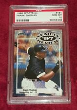 9ae334a4b FRANK THOMAS 1998 SPORTS ILLUSTRATED  181 97 YEAR IN REVIEW HOF PSA 10 ☆  SHARP