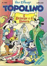 TOPOLINO N° 1903 - 17 MAGGIO 1992