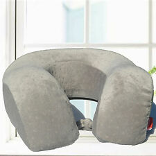 Large Soft Memory Foam U Shaped Travel Neck Pillow Airplane Head Rest Support