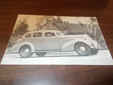 1936 Oldsmobile Advertising Postcard