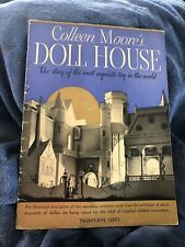 Signed Colleen Moore's Doll House 1935 Book
