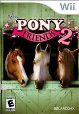 Pony Friends 2 -- Nintendo Wii Game -- GREAT CONDITION -- COMPLETE -- RARE GAME!