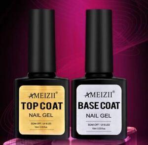 Base Coat  Top Coat Nagellack Gel UV LED 10ml AMEI