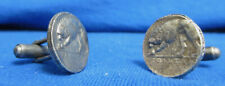 Ancient Roman Coin Cuff-links Wolf