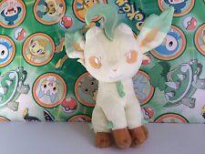 "Pokemon Plush Leafeon 6"" I Love Eevee 2013 Doll soft Stuffed animal figure toy"