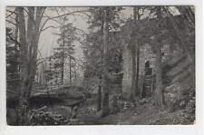 AK Fichtelgebirge, Waldstein Burgruine, 1910