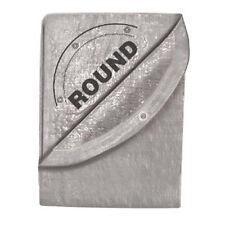 Tekton 6392 24' X 24' Silver Tarp - Round