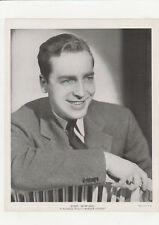 """John Howard 1930's Vintage Publicity Shot """"Border Flight"""" 8x10 Paramount"""