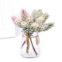 6pcs a bouquet Artificial Flowers Pineapple Grass Wedding Christmas Decor Cra`SE