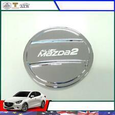 For 15+ Mazda 2 Mazda2 Sky Active Sedan 4 Doors Chrome Fuel Oil Tank Cap Cover