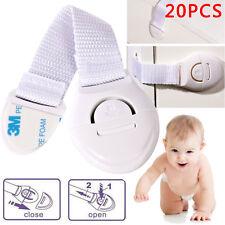 20x Kindersicherung Schrankschloss Schubladensicherung Baby Kinder Schutz