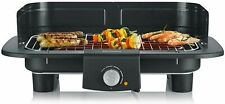 SEVERIN PG 8549 Barbecue Table Grill 37x23cm Stainless Steel 2300W Low Smoke
